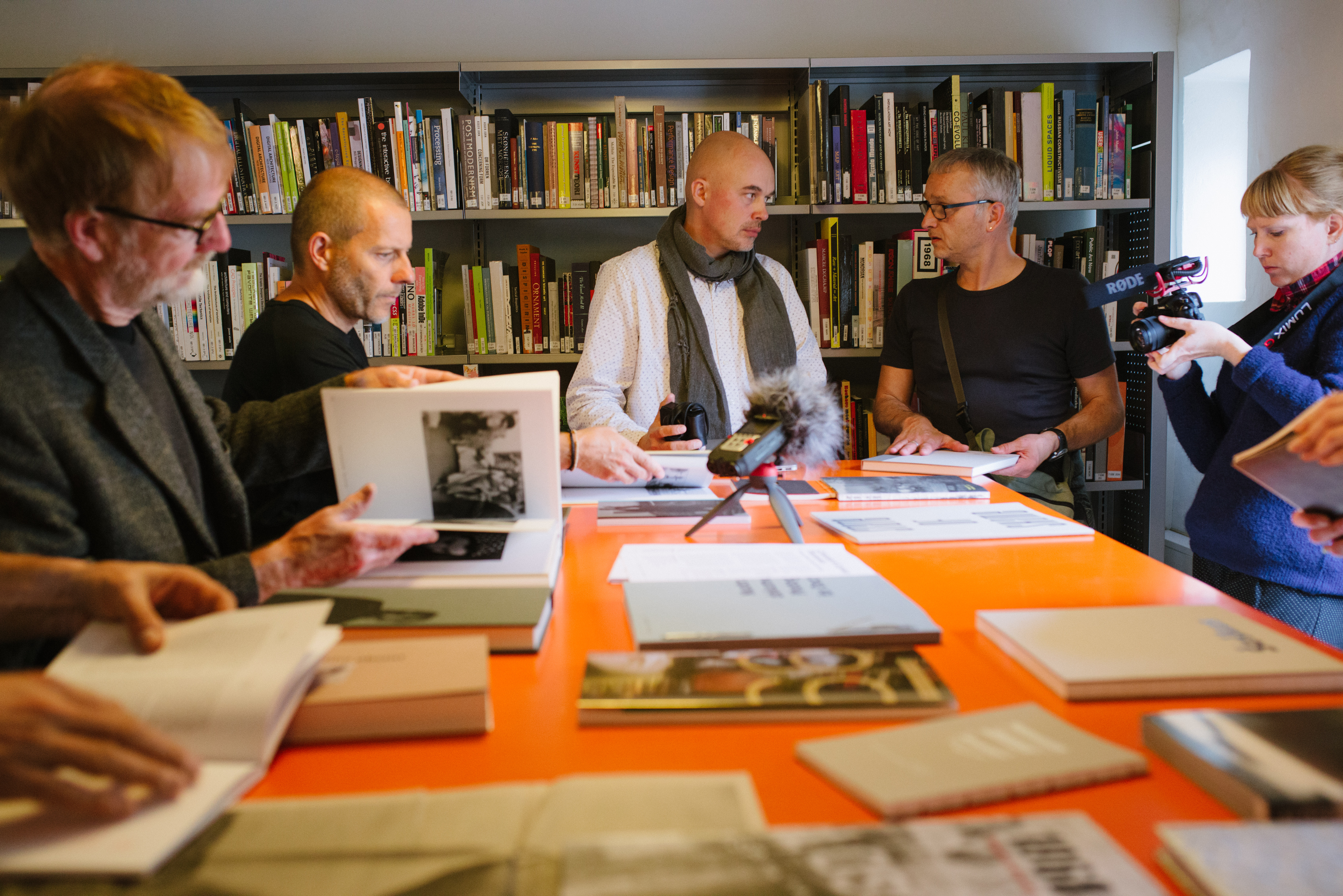 Gintaras Cesonis presents Lithuanian photobooks.