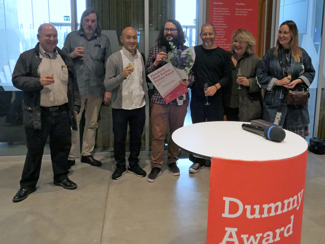 Dummy Award Jury, finalists, and winner.