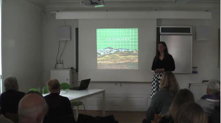 The seminar Separate and Together: Landscape Imagery and Icelandic Identity Part 1