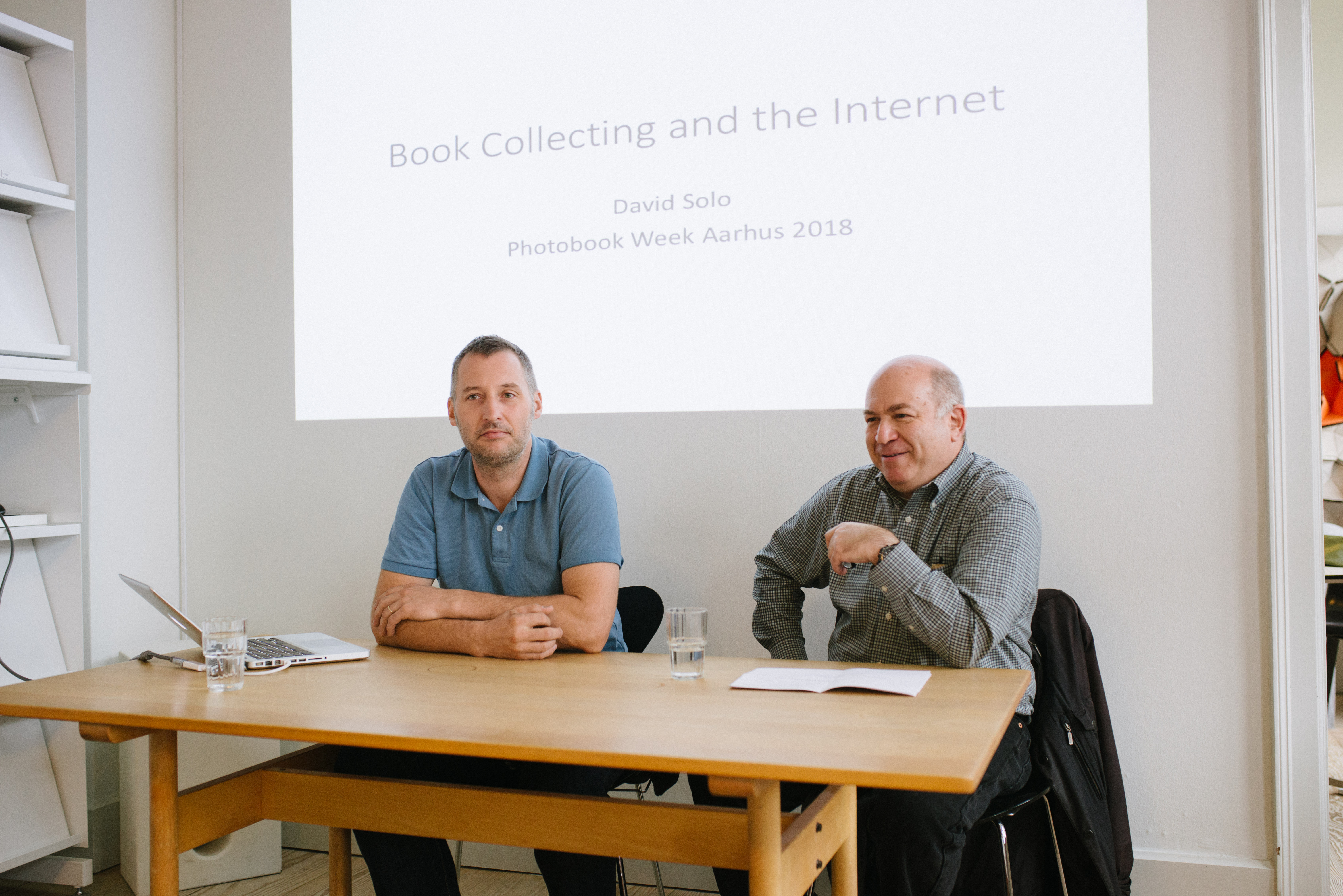 PWA 2018: Conversation between Moritz Neumüller and collector David Solo